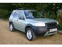 DIESEL AUTOMATIC Landrover Freelander TD4 ES Premium with FULL SERVICE HISTORY