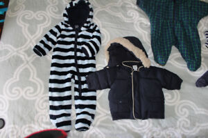 snowsuits/GAP outfit and coat