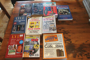 Large Box Lot of Antique & Collectibles Guides