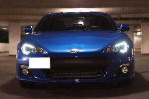 2013 Subaru BRZ Sporttech Blue Manual