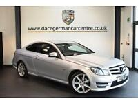 2012 12 MERCEDES-BENZ C CLASS 2.1 C220 CDI BLUEEFFICIENCY AMG SPORT 2DR AUTO 170