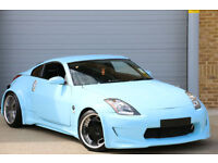 Nissan 350Z 3.5 V6 STUNNING ONE OFF WIDE BODY DESIGN AT A BARGAIN PRICE
