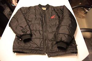 Manteau Hiver HONDA Racing. Noir, Coat chaud. LIVRAISON