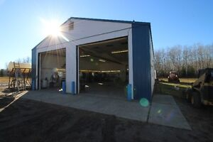 SHOP/CAMP & OFFICE for RENT/LEASE/SALE RED EARTH CREEK AB