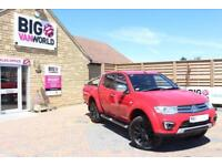 2015 MITSUBISHI L200 DI-D 176 4X4 BARBARIAN LB DOUBLE CAB PICK UP DIESEL