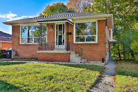 Excellent Location! 3+1 Bedroom Full House (South of Eglinton)