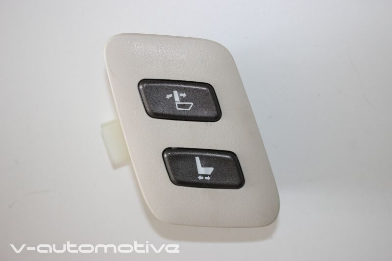 2008 LEXUS LS 460 / RHD FRONT L-SIDE PASSENGER SEAT ADJUSTMENT SWITCH FOR DRIVER