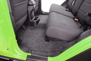 BEDRUG JEEP Carpet Direct-Fit; 5 Piece W/ Cargo Floor
