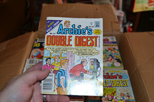 LARGE BOX 131 vintage 1980's Archie DIGEST Books $95 takes LOT! Windsor Region Ontario image 4