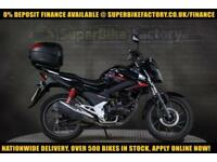 2016 16 HONDA CB125F WH-F 0% DEPOSIT FINANCE AVAILABLE