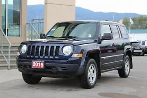 2015 Jeep Patriot Sport   - Low Mileage