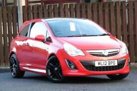 2012 VAUXHALL CORSA 1.2 LIMITED EDITION HATCHBACK PETROL