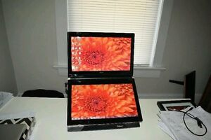 ACER ICONIA dual touch screen laptop