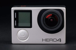 Gopro hero 4 silver in great condition 450$