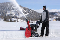 Snow blowing service no snow plow safe and reliable