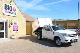 2009 FORD RANGER XL 4X4 TDCI SUPER CAB HIGH SIDED ALLOY TIPPER TIPPER DIESEL