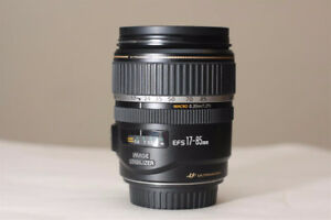 Canon EF-S 17-85mm 1:4-5.6 IS as is