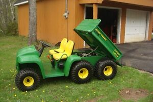 Used John Deere 6x4 with less than 200 hrs