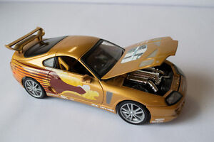 Fast and  Furious / 2Fast 2 Furious  1995 Toyota Supra diecast 1