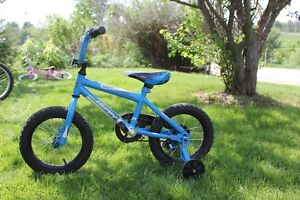 HUFFY 14 INCH BIKE/ TRAINIG WHEELS Kawartha Lakes Peterborough Area image 1