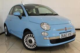 2013 63 FIAT 500 1.2 LOUNGE 3DR 69 BHP