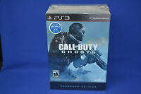 PS3 Call of Duty Ghosts Hardened Edition 2013, New in the Box.