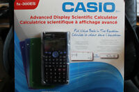 Casio Advanced Display Scientific Calculator fx-300 ES -New