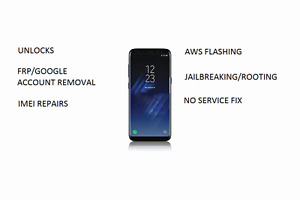 Samsung Unregistered SIM,Network Unlock And IMEI Repair Service