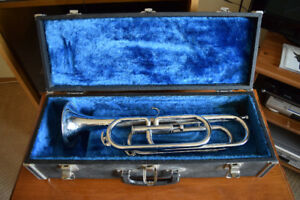 Single Valve Bugle with Hard Case / Made in Japan