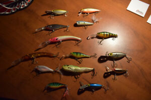 Fishing Lures x 14 Brand New - Never Used