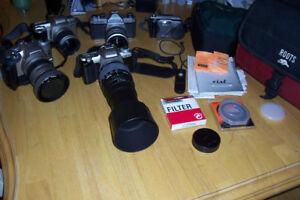 4 / 35mm pentax cameras  $350