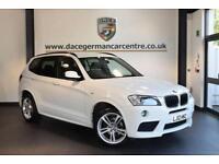 2012 12 BMW X3 2.0 XDRIVE20D M SPORT 5DR 181 BHP DIESEL