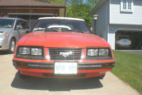 1983 Ford Mustang GLX Convertable