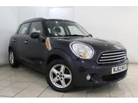 2013 62 MINI COUNTRYMAN 1.6 COOPER D ALL4 5DR 112 BHP DIESEL