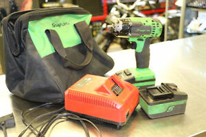"""Snap On 3/8"""" Drive Impact with 2 Batteries, charger and Bag."""