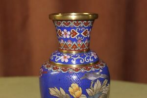 Chinese Cloisonne Vases Pair Kingston Kingston Area image 4