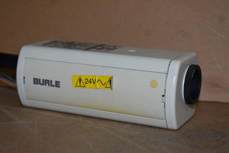 Burle TC372 CCD Camera, Commercial Video Camera, 24VAC