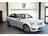 2013 62 MERCEDES-BENZ C CLASS 2.1 C220 CDI BLUEEFFICIENCY AMG SPORT PLUS 4DR AUT