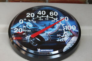 Plastic Michelin Man Tires Thermometer