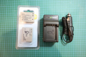 New NB-10L Lithium Camera batteries and Charger