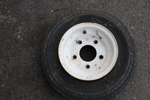 1-SURE TRAIL ST 4.80-8 TIRE WITH RIMS