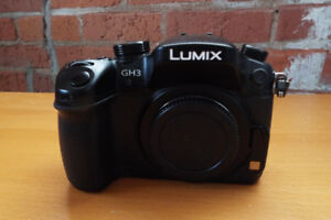 Lumix DMC-GH3 With 14-42 Lense