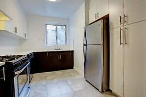 LUXURY APARTMENT- 100% COMPLETE HIGH-END RENO. NDG/CSL/HAMPSTEAD
