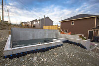 Concrete Forming - New Homes and Commercial