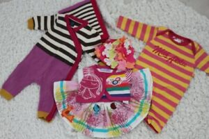 Baby Girls Clothing Bundle for 3-6 months