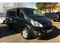 2018 Ford Transit Custom 310 LIMITED 6 Seat Double Cab In Van 2.0TDCi 170ps Auto