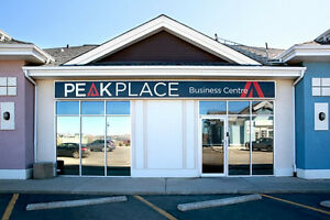 Airdrie: Furnished Private Office Spaces Available for Lease