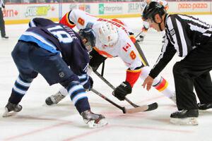 NHL Flames VS Jets Wednesday Nov 21 - 8pm