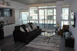 New Condo in Leslieville - furnished $1,945/mo (pkg available)
