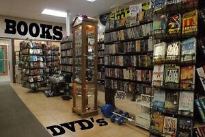 2-for-1 DVD EXCHANGE --and--50,000 BOOKS way less than 1/2 price